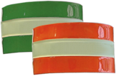 Jalite - Plain Armbands Green & Red