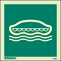 4410C - Jalite Lifeboat Sign