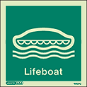 4500C - Jalite Lifeboat Sign - IMPA Code: 33.4100 - ISSA Code: 47.541.00
