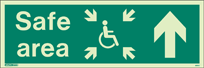 4651U - Jalite Safe Area Sign