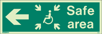 4653U - Jalite Safe Area Sign