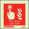 6257B - Jalite Fire alarm call point Sign