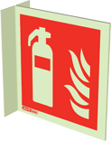 6424FS15 - Jalite Fire Extinguisher Location Sign