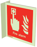 6450FS15 - Jalite Fire Alarm Location Sign