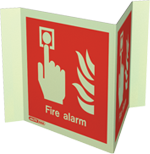 6450P15 - Jalite Fire Alarm Location Sign