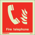 6451C - Jalite Fire Telephone Location Sign