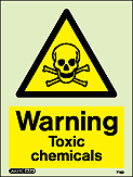 7112D - Jalite Warning Toxic chemuicals
