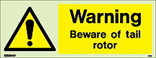 7394K - Jalite Warning Beware of tail rotor