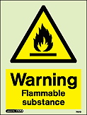 7421D - Jalite Warning Flammable substance