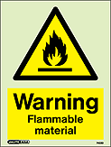 7422D - Jalite Warning Flammable material - IMPA Code: 33.7635 - ISSA Code: 47.576.35