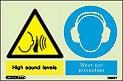 7495Y - Jalite Warning High sound levels Wear ear protection