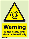 7512D - Jalite Warning Motor starts and stops automatically
