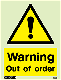 7522D - Jalite Warning Out of order