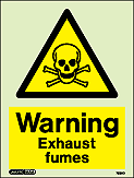 7589D - Jalite Warning Exhaust fumes