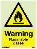7590D - Jalite Warning Flammable gasses