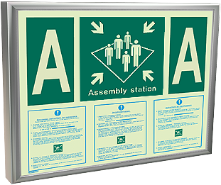 Assembly Station Emergency Notices