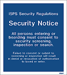 W9245F - Jalite ISPS Security Regulations Security Notice
